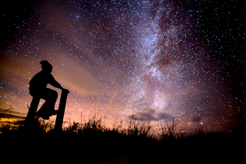 milky way meditation