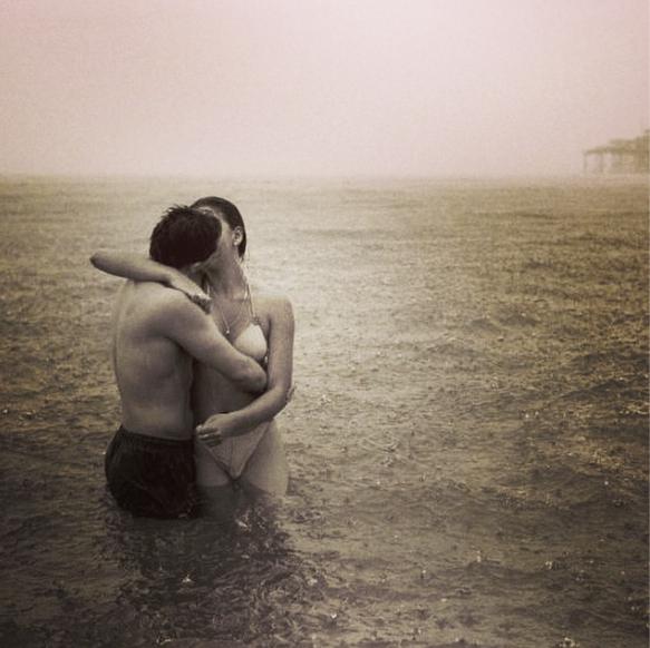 rain love sea ocean romance