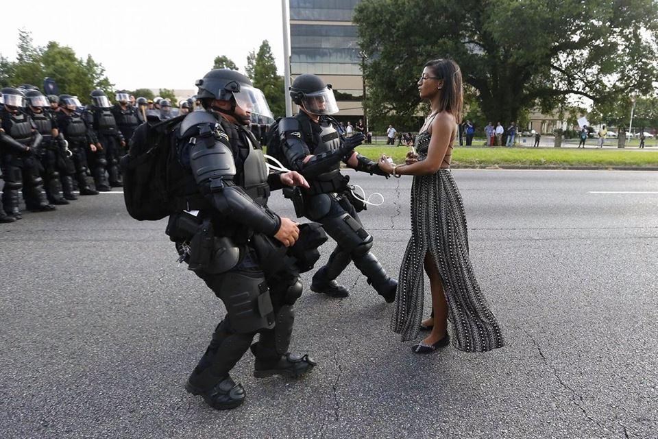 baton rouge america cops racism arrest