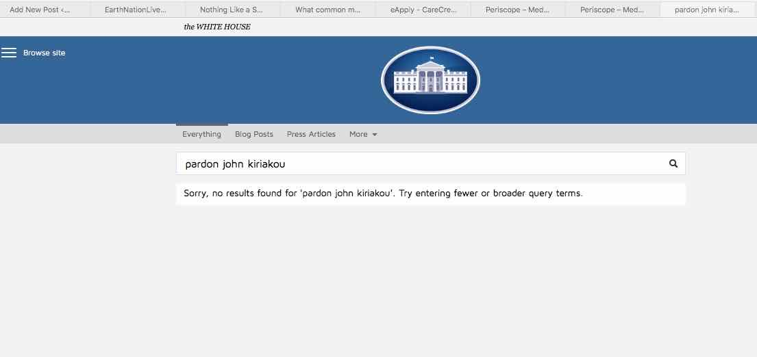 29 september 2016 white house obama pardon john kiriakou brian browne walker blog