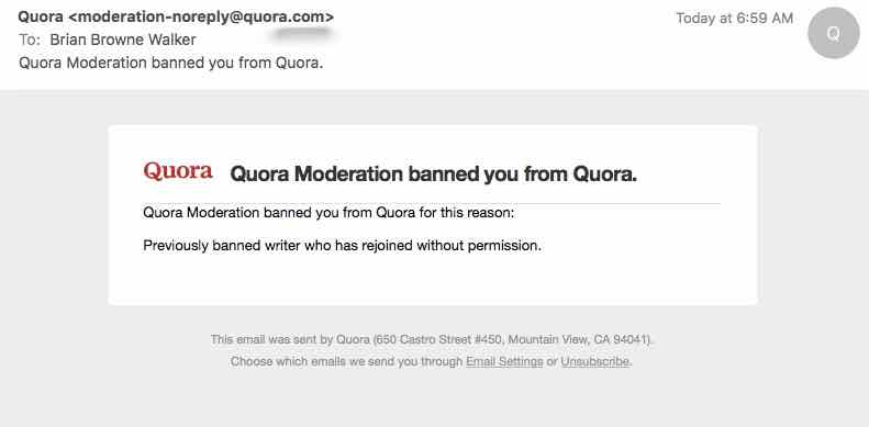 brian browne walker banned from quora banned again 29 september 2016 tut tut