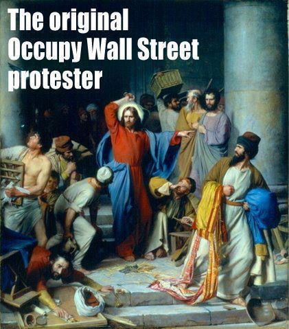 occupy Jesus-wall-street-protester