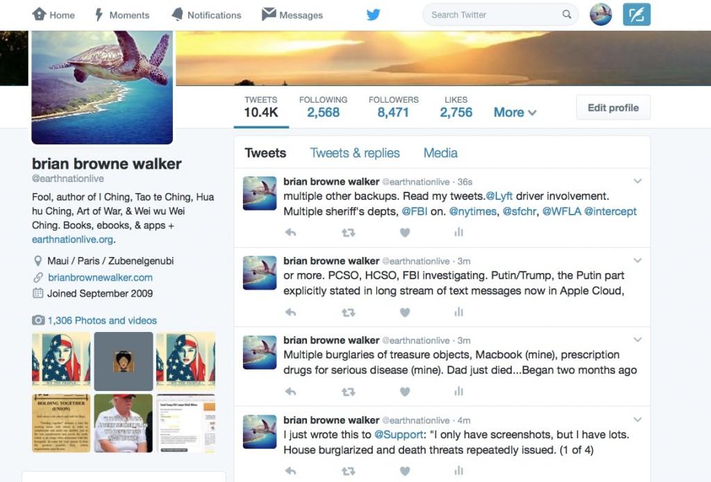 twitter death threats support screen grab